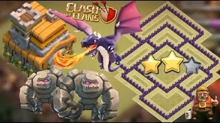 getlinkyoutube.com-Clash Of Clans TH7 War Base 2016 Anti Everthing-Anti Dragon Anti Hog With 3 Air Defense