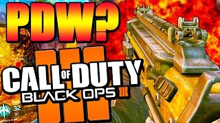 getlinkyoutube.com-PDW COMING TO BO3? - Black Ops 3 In Game Files Leaked - Future Weapon DLC?
