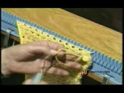 Tricotar Máquina de Fazer Tricô (Parte 2)
