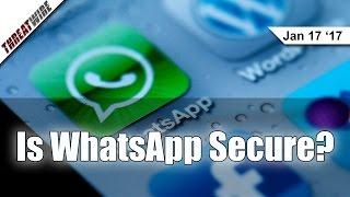getlinkyoutube.com-Is WhatsApp Secure? - Threat Wire