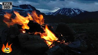 getlinkyoutube.com-Crackling Campfire on the Windy Tundra of Norway (HD)
