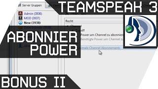 Teamspeak Bonus 2 [Abonnier Power] Deutsch [GER HD]