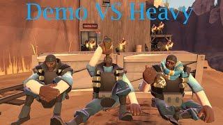 getlinkyoutube.com-TF2 bot battle 23 : Demo Vs Heavy