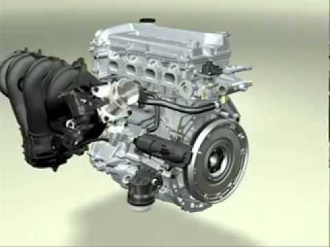 Motor Otto de 4 tiempos