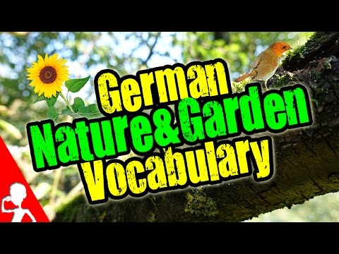 German Nature & Garden Vocabulary Lesson | Get Germanized
