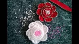 getlinkyoutube.com-Membuat bunga dari resleting