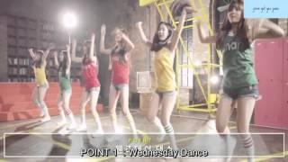 getlinkyoutube.com-BTS X Gfriend Smart song Dance tutorial ENG SUBS