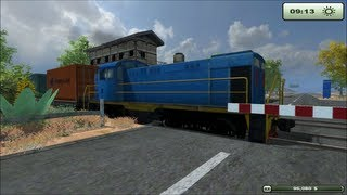 "getlinkyoutube.com-Farming Simulator 2013 USA Map - Santa Fe Railroad ""Awesome Western USA Ranch Map"""