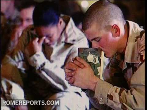 MP3 players filled with Catholic content for troops and wounded soldiers