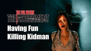 getlinkyoutube.com-Kidman Death Scenes - The Evil Within - The Assignment [Spoilers Warning][ENG subtitle]