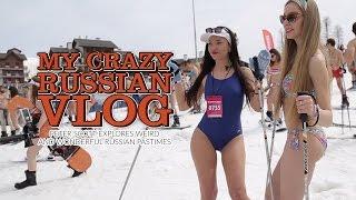 getlinkyoutube.com-My crazy Russian vlog. Peter Scott explores weird & wonderful Russian pastimes