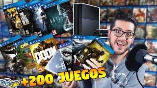 PS4: Mi colección COMPLETA de juegos (+200 títulos) | SQS