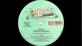 getlinkyoutube.com-Gusto - Disco's Revenge (Mole Hole Dirty Mix 1995)