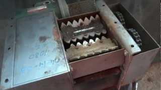 getlinkyoutube.com-Triturador de pet , latinhas , fios de cobre 11 4448 1838