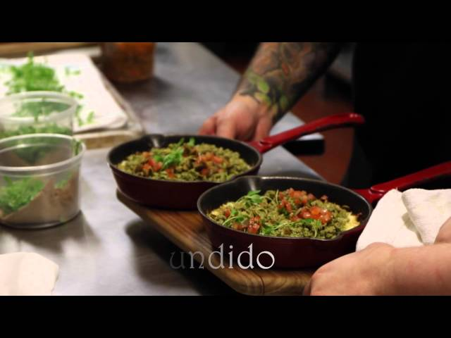 Pop-up mexican food creation