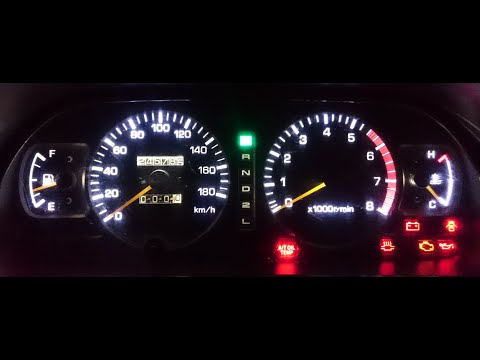 LED подсветка панель приборов Toyota Land Cruiser Prado 90 95