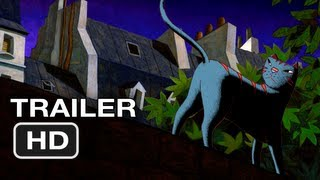 A Cat in Paris Movie Official Trailer #1 (2012) HD Movie