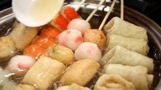 getlinkyoutube.com-Fish cake soup (Eomukguk: 어묵국)