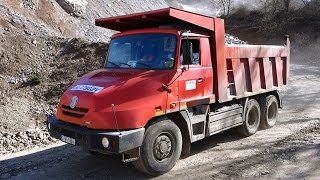 getlinkyoutube.com-TATRA Jamal - driving at the quarry