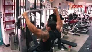 getlinkyoutube.com-Hipertrofia avanzada, espalda y Biceps, entrena Puro Suarez en WorkoutRD Diamond Plaza