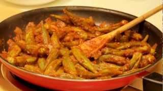 getlinkyoutube.com-Easy Okra Recipe