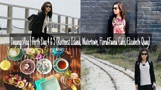 DayangsVlog | Perth Day 4 & 5 (Rottnest, Watertown, FloraFauna Cafe, Elizabeth Quay) | dygans9