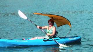 "getlinkyoutube.com-The WindPaddle ""Bimini"" Sun Shade"