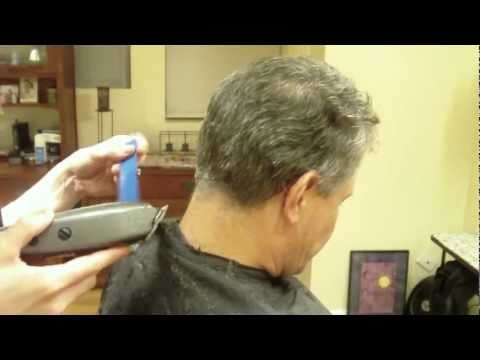 Mens Clipper Cut: Clipper Over Comb: Hair Tutorial