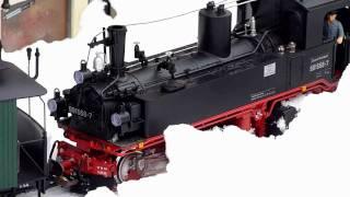 Erster Test der Eigenbau Schneefräse für LGB mit anschließendem Zugbetrieb am 04.12.2010