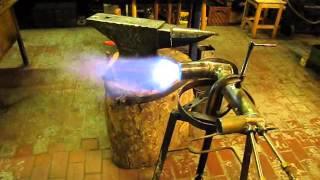 "getlinkyoutube.com-Gas burner ""The Monster Torch"" test"