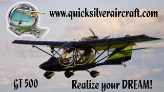 getlinkyoutube.com-Quicksilver Aircraft, Quicksilver Aeronautics, Quicksilver GT 500, Quicksilver GT 400.
