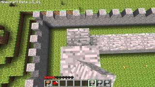 getlinkyoutube.com-Minecraft - KolorowePiksele #5 - Budowa Zamku