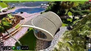 getlinkyoutube.com-Lumion 6 + Quadro M4000 _ Garden design 2020-Part 1