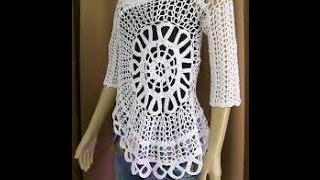 getlinkyoutube.com-Very Easy Crochet Blusa