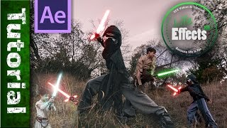 Advanced Lightsaber Animation with motion tracking in After Effects 🔦  A Saber Tutorial