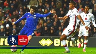 getlinkyoutube.com-MK Dons 1-5 Chelsea - Emirates FA Cup 2015/16 (R4) | Goals & Highlights