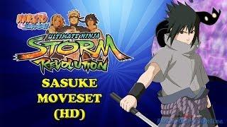 getlinkyoutube.com-Naruto Storm Revolution Sasuke Moveset HD