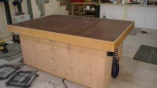 18 - How to Build A Torsion Box Assembly Table Top (Part 1 of 2)