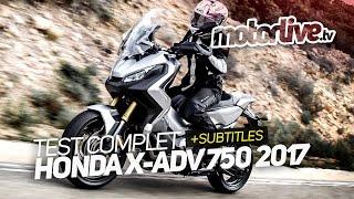 getlinkyoutube.com-HONDA X-ADV 750 2017 | TEST COMPLET