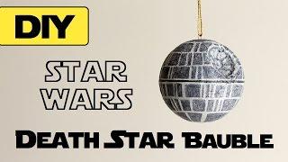 getlinkyoutube.com-DIY Death Star Bauble   STAR WARS