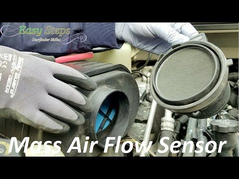 How To Clean or Replace Mass Air Flow Sensor on HUMMER H2