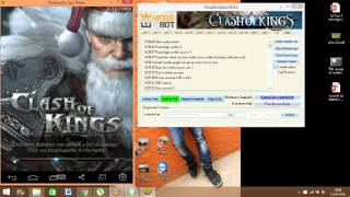 getlinkyoutube.com-clash of kings farming bot|KINGBOT|