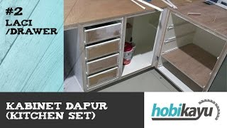 getlinkyoutube.com-Buat Sendiri Kitchen Cabinet/Kitchen Set - Bagian 2 - Laci