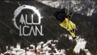 : Impressionnante descente en ski!