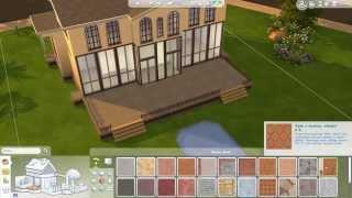 getlinkyoutube.com-The Sims 4 - Nowoczesna klasyka - Let's Build #1