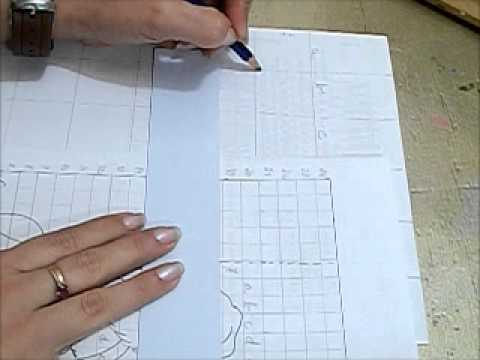 COMO AMPLIAR DESENHOS - HOW TO ENLARGE DRAWINGS
