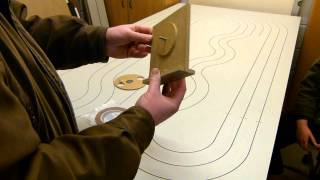 getlinkyoutube.com-Make your own HO routed copper tape slot car track
