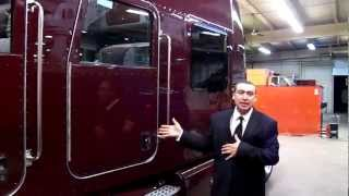 getlinkyoutube.com-2013 Peterbilt Ultra Crew Cab Designed by Bentz Racing Hauler Horse 260-238-5000