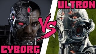 getlinkyoutube.com-Кто кого #41Cyborg (Киборг DC) vs Ultron (Эра Альтрона)