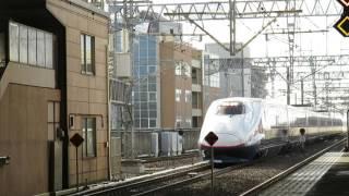 getlinkyoutube.com-2015.12.27 E2系N10編成廃車回送 新潟駅にて